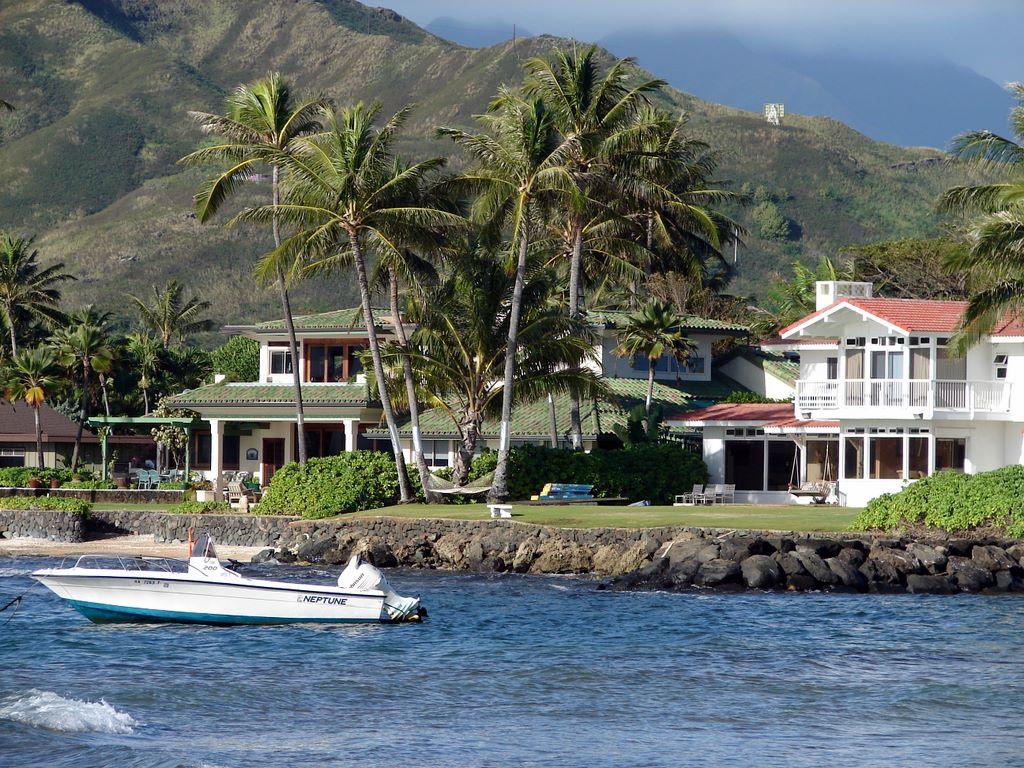 Hawaii Dream Homes Beautiful Scenery Photography
