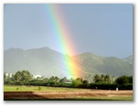 Rainbow over Kailua, Windward Oahu
